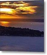 West Seattle Soaring Sunset Metal Print