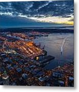 West Seattle Water Taxi Metal Print