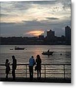 West Side Sunset Metal Print