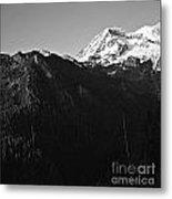 West Slope Mt. Rainier Metal Print