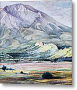 West Spanish Peak Metal Print