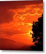 West Virginia Late Spring Sunrise Metal Print
