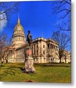 West Virginia State Capitol Building Metal Print