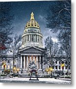 West Virginia State Capitol Metal Print