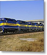 Westbound Train Metal Print