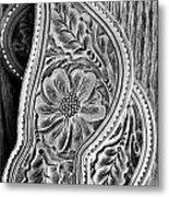 Western Details Metal Print