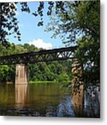 Western Maryland Railroad Crossing The Potomac River Metal Print