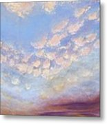 Western Sunset Metal Print