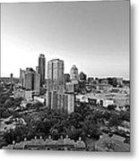 Western View Of Austin Skyline Metal Print