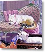 Westies Home Metal Print