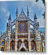 Westminster Abbey - North Transept Metal Print by Skye Ryan-Evans