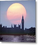 Westminster Hour Metal Print