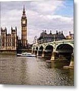 Westminster Pano Color Metal Print