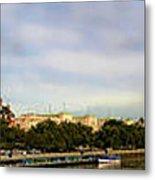 Westminster Panorama Metal Print