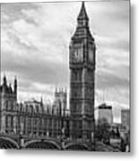 Westminster Panorama Metal Print