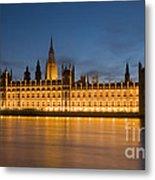 Westminster Twilight II Metal Print
