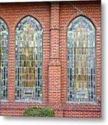 Westminster Windows Metal Print