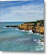 Westward Ho Sailing Around Castelo Points Algarve Portugal Metal Print by John Kelly