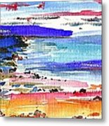 Westward Ho Shore Metal Print