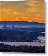 Gateway To Seattle Metal Print