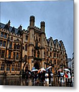 Wet And Miserable London Metal Print