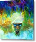 Wet And Wild Metal Print