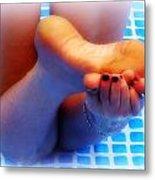 Wet Feet 2 Metal Print