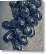 Wet Grapes Five Metal Print