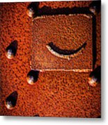 Wet Rivets Number Nine Metal Print
