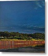 Wetland Barrier Metal Print