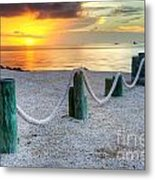 Whale Harbor II Metal Print