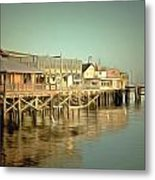 Fishermans Wharf Monterey California Metal Print