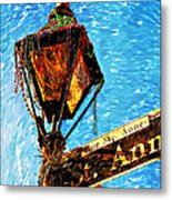 What A Party Painted Metal Print