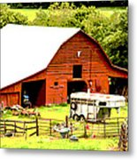 What About The Horses Metal Print