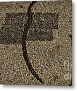 What Above The Recovery Metal Print