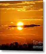What Do You See Sunset Metal Print