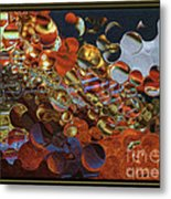 What Is Going On By Steven Langston Metal Print