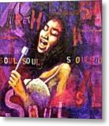 What Is Soul Aretha Metal Print