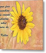 What Sunflowers Do Metal Print