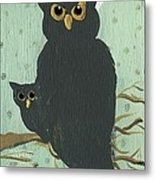 What The Who? Owls  Metal Print