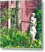 What's A Nice Goddess Like You Doing In A Place Like This?  Metal Print by Lorenzo Laiken