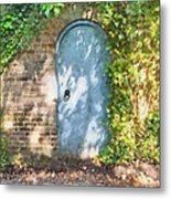 What's Behind The Gate? 2 Metal Print