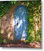 What's Behind The Gate? 3 Metal Print