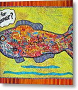 What's For Dinner Metal Print