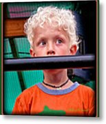 What's Going On Over There? Metal Print