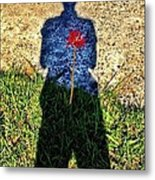 What's In Your Heart ? Metal Print