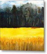 Wheat Field 1 Metal Print