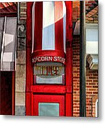 Wheaton Little Popcorn Shop Panorama Metal Print