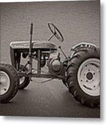 Wheel Horse Vintage Metal Print