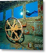 Wheel House Metal Print